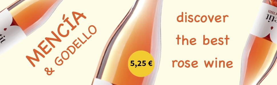 Wine, Rose, Bierzo. Petit Pittacum Rose